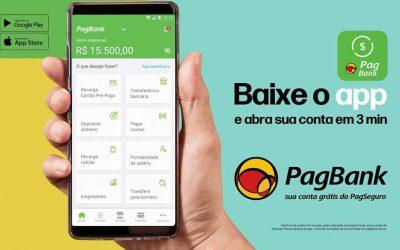 Super App PagBank Agora Aceita Cartão De Crédito Para Recarga De Celular